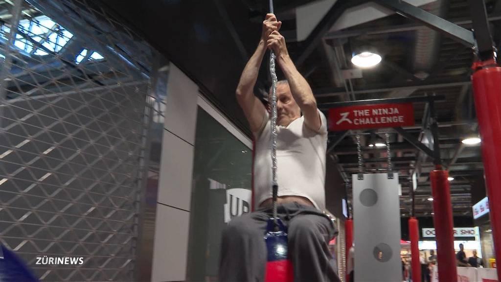 62-Jähriger will Ninja Warrior werden