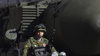 Eine Interkontinentalrakete vom Typ Topol hat Russland zu Testzwecken nach Kamtschatka geschossen. (Archivbild)