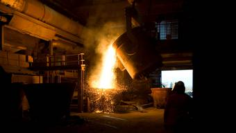 Betroffen von den Strafzöllen ist etwa das Unternehmen Stahl Gerlafingen. Gaetan Bally/Keystone