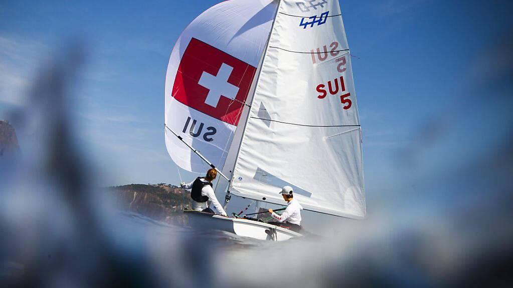 Linda Fahrni und Maja Siegenthaler feiern an der EM in Portugal ihren grössten Erfolg. (Archivbild)
