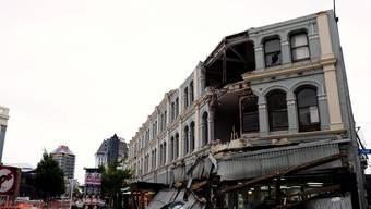 Nach dem Beben vom 22. Februar in Christchurch gab es viele Tote und grossen Sachschaden zu beklagen (Archiv)