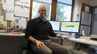 «Mein Bürostuhl ist viel besetzt, da ich oft im Büro bin»: Jürg Oeschger.