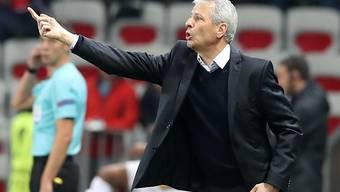 Lucien Favre gewann mit Nice erstmals seit dem 21. Januar 2018 in der Ligue 1 wieder drei Punkte
