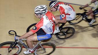 Das Schweizer Duo Claudio Imhof (rechts) und Gaël Suter in Aktion