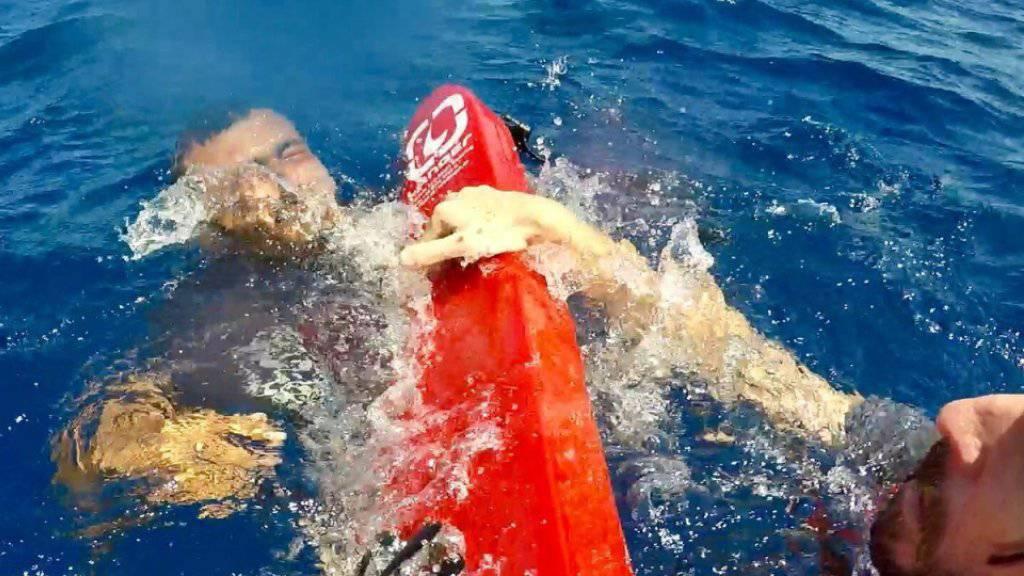 Schiffbruch vor libyscher Küste