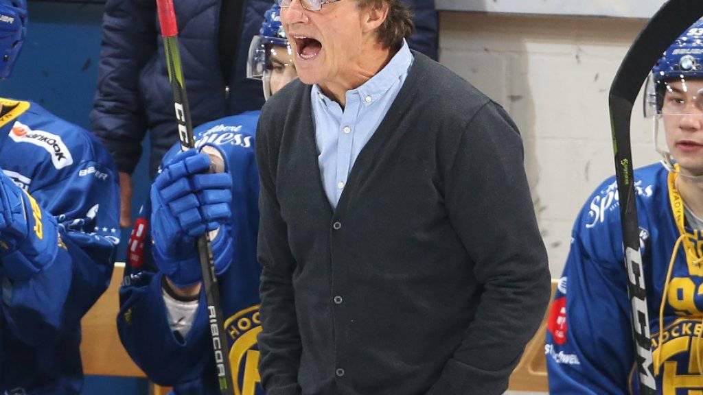 Arno Del Curto ist der dienstälteste Trainer der National League. Er steht seit 1996 beim HC Davos an der Bande