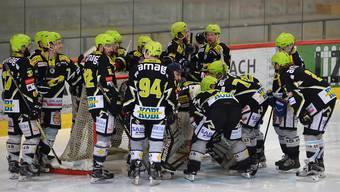 Die Bucheggberger vergaben den ersten von drei Matchpuckts. Morgen Dienstag geht die Best-of-5-Serie in Meinisberg in die vierte Runde.