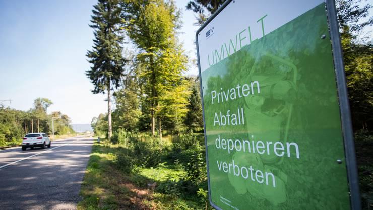 Abfallsünder Entsorgen Illegal Müll Matratzen Und Möbel Lenzburg