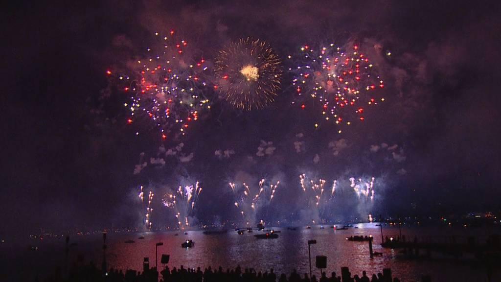 Züri-Fäscht-Feuerwerk: «Schlager Festival»