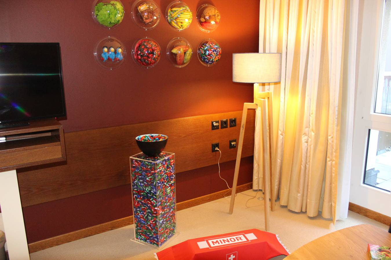 Das Hotel Säntispark hat zwei Schoggi-Zimmer eröffnet. (© FM1Today/Krisztina Scherrer)