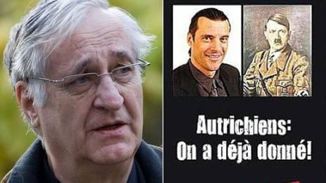 Diese Bildmontage veröffentlichte Adolphe Ribordy (links): «Österreicher: Wir haben schon genug gelitten!»
