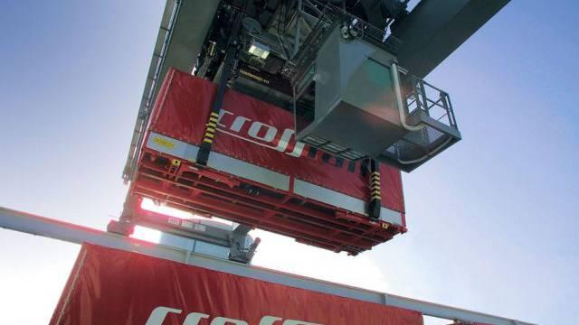 Lohndumping? Crossrail bietet kombinierten Güterverkehr an (Archiv)