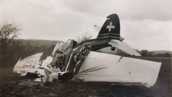 Absturz am Ostersonntag vor 60 Jahren