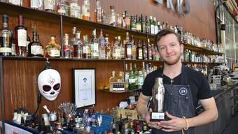 «Perfekter Abschluss» Ausgezeichnet als das schweizweit «Best Barkeeper Talent» verlässt Stefano Haegi das «Werk 8».