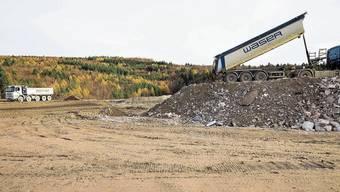 Schlechtes Beispiel: Die Deponie Höli in Liestal wurde in Rekordtempo aufgefüllt. Das soll sich im Baselbiet nicht mehr wiederholen.