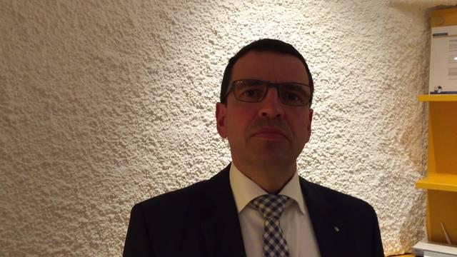 Matthias Jauslin, Nationalrat und Präsident der FDP Aargau