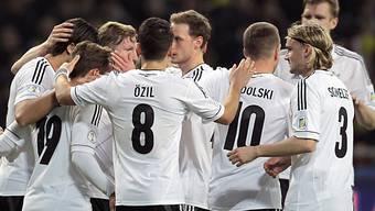 Ungefährdeter 3:0-Sieg für Deutschland in Kasachstan.