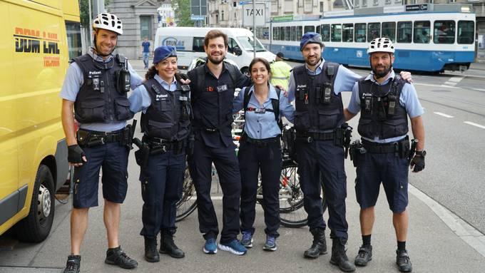 Tag 1: Mit der Polizeieskorte bis zur Stadtgrenze