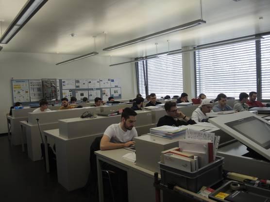 Besuch einer QV-Vorbereitung im BWZ in Brugg.