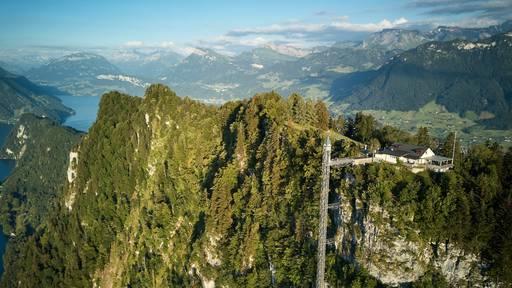 Felsenweg zum Hammetschwand bis im Frühjahr unterbrochen