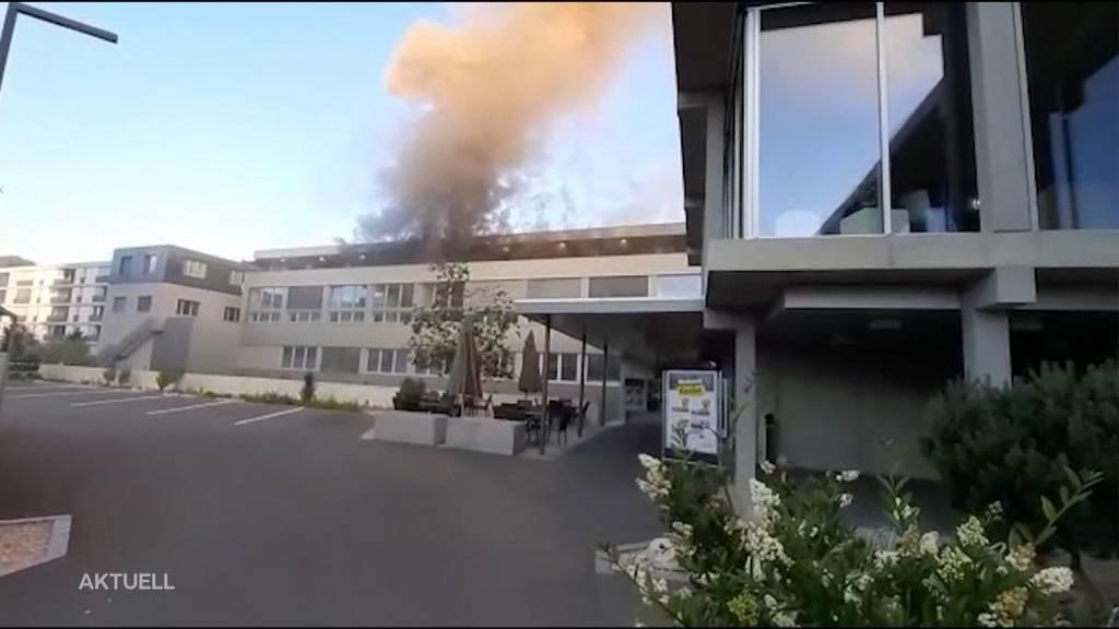Junger Mann stirbt bei Wohnungsbrand in Breitenbach