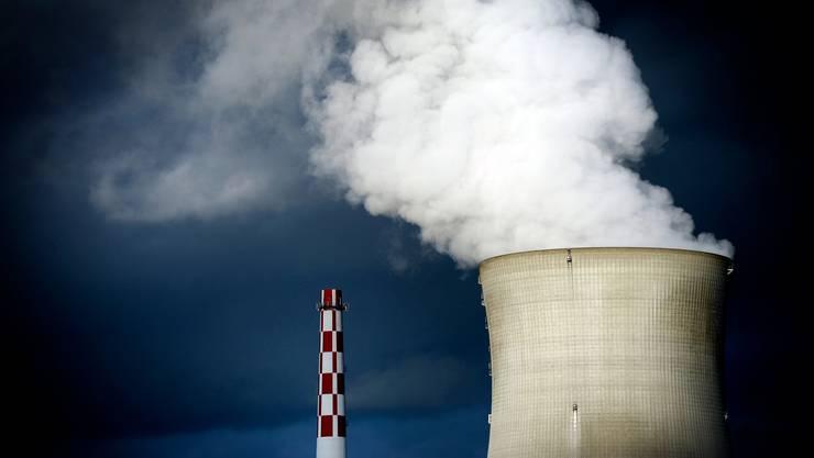 Aussenansicht des Kernkraftwerks Leibstadt. (Archivbild)