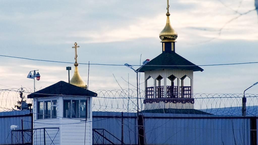 ARCHIV - Die Gefangenenkolonie IK-2, die sich unter den russischen Strafvollzugsanstalten durch ein besonders strenges Regime auszeichnet, liegt 85 Kilometer östlich von Moskau.Kremlkritiker Nawalny war in dieses Straflager gebracht worden. Foto: Kirill Zarubin/AP/dpa Foto: Kirill Zarubin/AP/dpa
