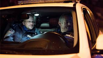 Badener Stadtpolizisten auf Streife: Ernsthaft verletzt wurden 2018 keine Polizisten, aber Respektlosigkeit und Aggressionen würden stark zunehmen. az/archiv