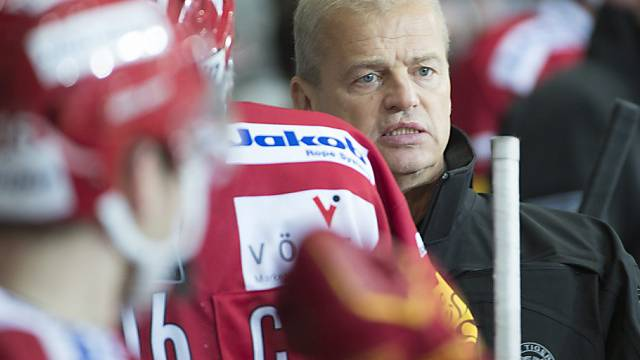Keine Freude bei Langnaus Headcoach Bengt-Ake Gustafsson