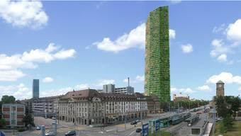 Der Architekt Heinrich Degelo schlug bereits 2005 ein 200 Meter hohes Holz-Hochhaus vor.