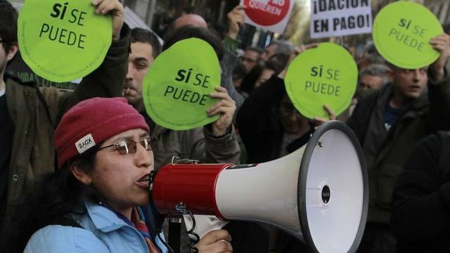 Mittelstand soll aufatmen können: Protest in Madrid (Archiv)