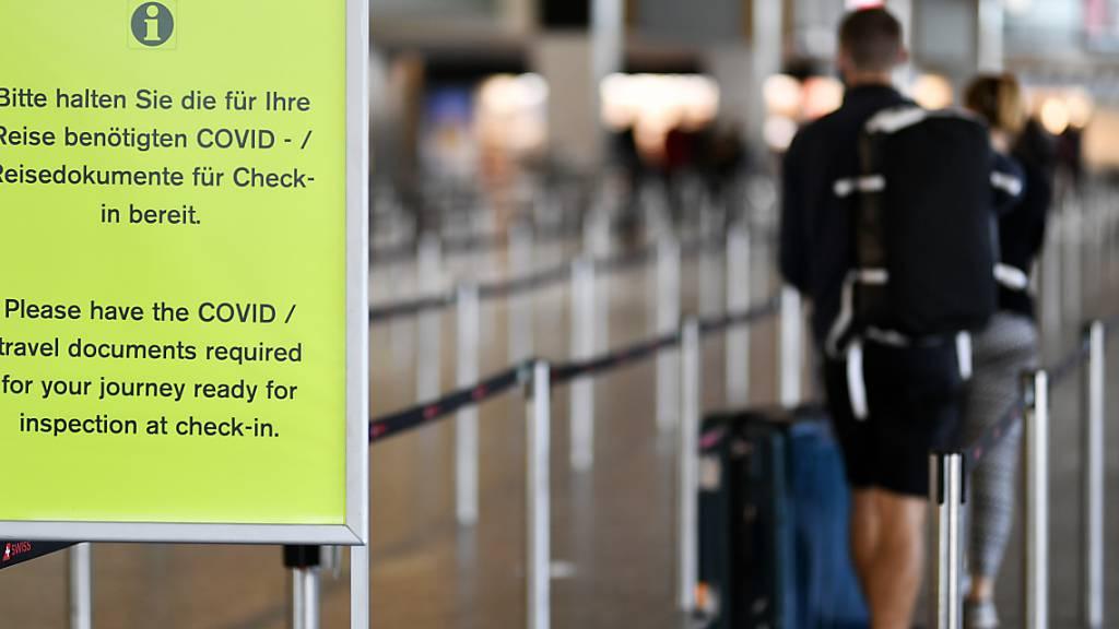 Reisen ohne Tests oder Quarantäne wohl nur noch für Geimpfte