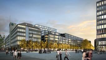 So sollen Sihlpost und Europaplatz ab 2020 aussehen