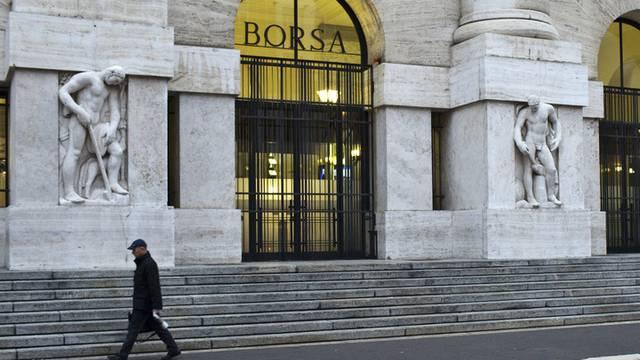 Die Börse in Mailand (Archiv)