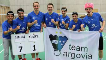 NLA-Badminton Team Argovia