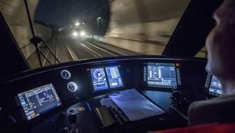 Video-Reportage: In der Nacht auf den Dienstag testeten die SBB einen Autopiloten für Züge.