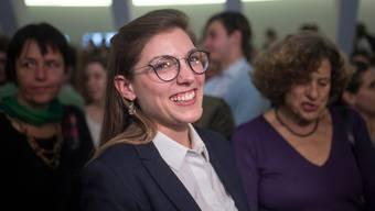 Franziska Ryser zieht für die St. Galler Grünen in den Nationalrat ein.