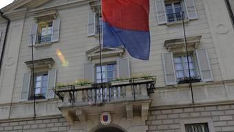 Das Tessiner Regierungsgebäude in Bellinzona (Archiv)