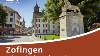 Eine Auswahl der neuen Strassenschilder zu den touristischen Zielen im Aargau