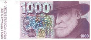 Die 1000er-Note aus dem Jahr 1978 ist heute immer noch gültig.