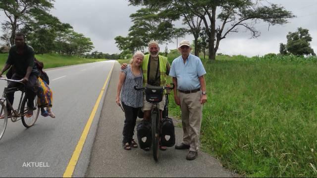 Pensionierter Tierarzt reist quer durch Afrika