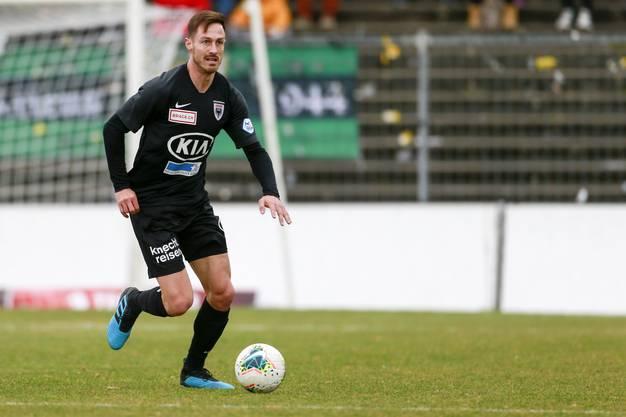 Francois Affolter spielt seit Anfang 2020 für den FCA