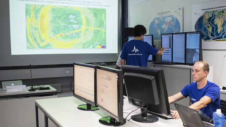 Der Schweizerische Erdbebendienst registrierte in der Nacht auf Dienstag in der Grenzregion Bodensee verschiedene spürbare Erdstösse. (Archivbild)