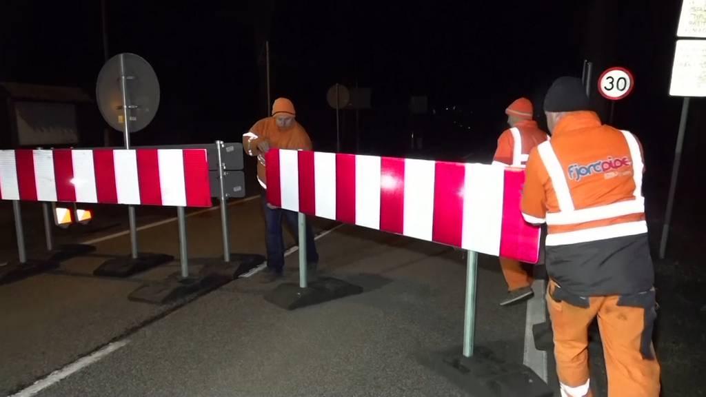 Deutschland macht Grenzen zu, Ausgangssperre in Österreich