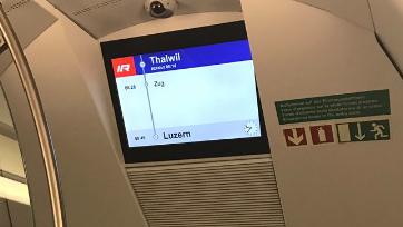 Der InterRegio-Zug war vom Hauptbahnhof Zürich nach Luzern unterwegs, als er im Tunnel stecken blieb.