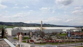 Das Werk Reinach der Alu Menziken Extrusion AG liegt im Industriegebiet im Norden von Reinach.