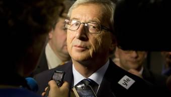 Jean-Claude Juncker am letzten Sonntag nach der Wahl