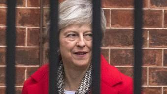 Eingesperrt im selbstgemachten Brexit-Käfig ohne Alternative: so sehen Kritiker die britische Premierministerin Theresa May derzeit.