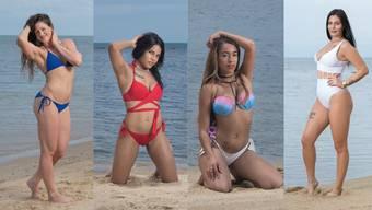 Die vier Solothurner Bachelor-Kandidatinnen Natalie, Steffi, Yiankarla und Ramona