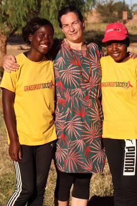 Gabriela Wichser (Mitte) ist Leiterin Programme bei Terre des Hommes Schweiz.